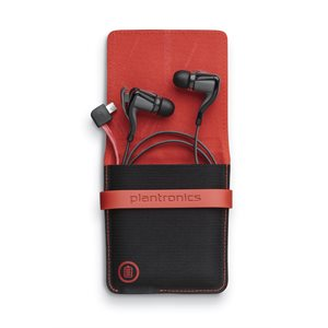 Plantronics Back Beat Go 2 and charging case, black
