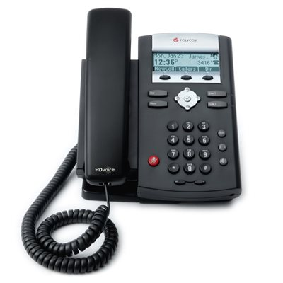 SoundPoint IP 335, 2-line SIP desktop phone with HDVoice. Does not include AC power supply.