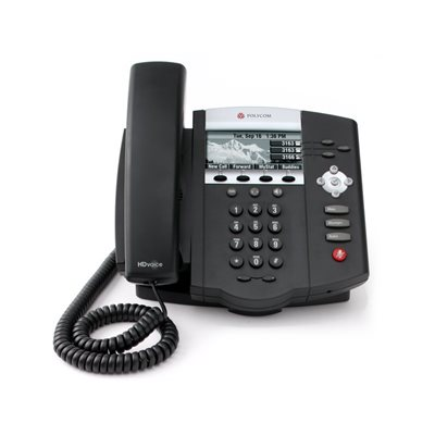 SoundPoint IP 450 3-line IP phone with HD Voice. Compatible Partner platforms, 25+