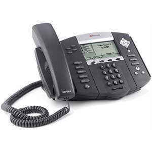 SoundPoint IP 550 SIP 4 line IP desktop phones with HD voice. w / o  AC pwr supply