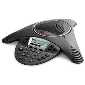 SoundStation IP 6000 (SIP) conference phone. 802.3af Power over Ethernet. Expandable.