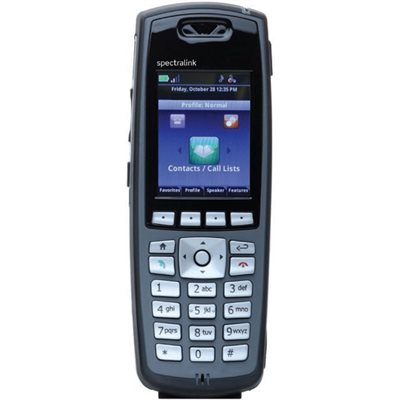 Spectralink 8440 without Lync support, North American Handset, Black