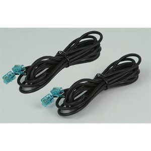 Cable - Ext. Microphone Cables, 7ft, (2) - SSVTX1000, SoundStation2