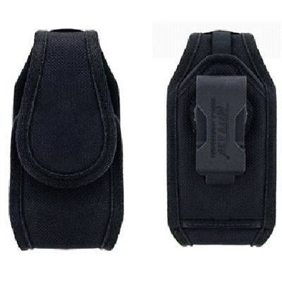 Spectralink Black nylon holster with integrated, swiveling