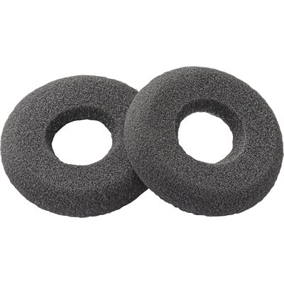 Ear Cushion Kit (2pk), Doughnut, Black