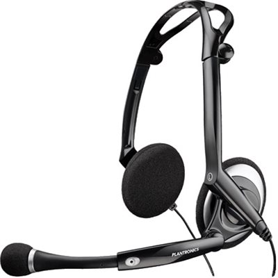 AUDIO 400DSP Foldable Stereo Headset.  Full-range stereo