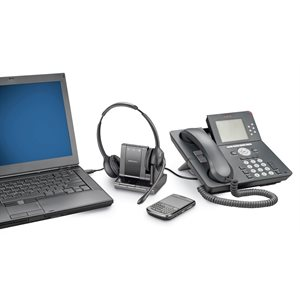 Savi W720-M, Microsoft Version, 3-in-1, Over-the-Head, Binaural, DECT 6.0