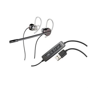 Blackwire C435-M Convertible PC Headset for Mono or Stereo Wearing. Microsoft Lync compatible.