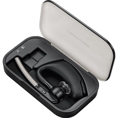 Voyager Legend Bluetooth Over-the-Ear Headset w /  charge case