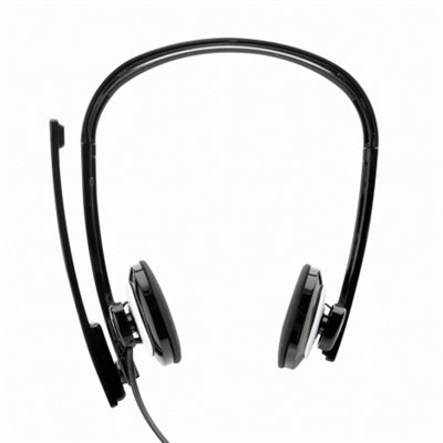 WISDOM BINAURAL SOUNDCARD PC HEADSET WITH MICROPHONE