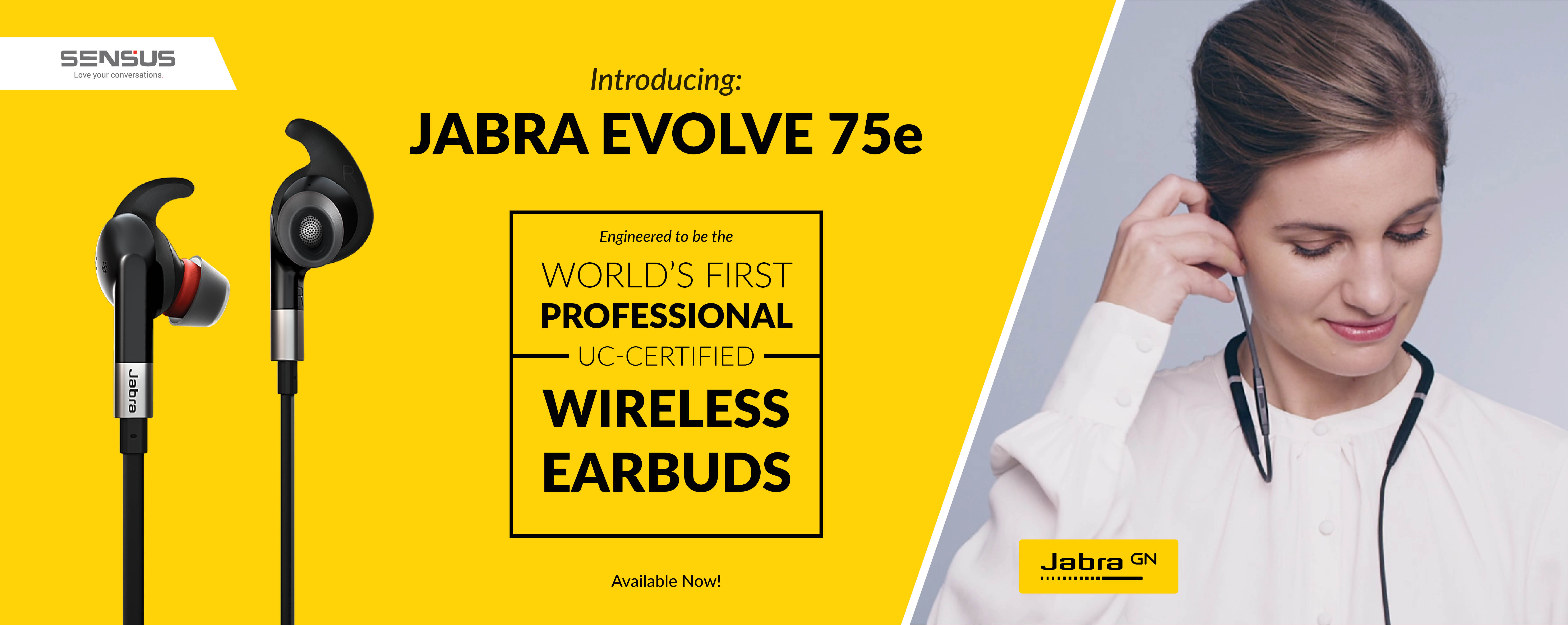 Buy Jabra Evolve 75e from SENSUS